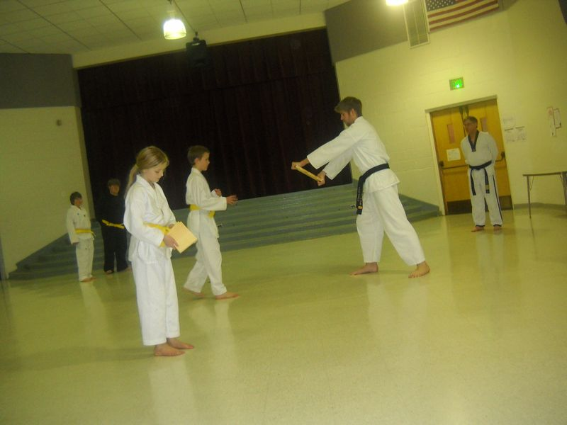 Tkd green belt