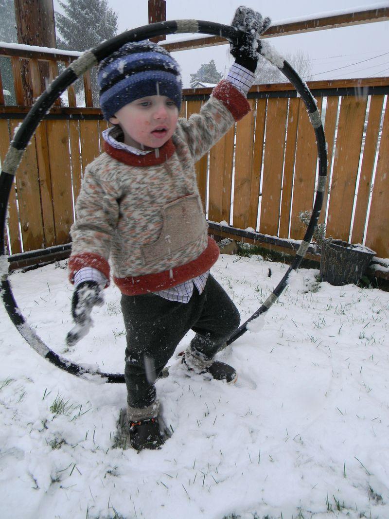 Snowhooping