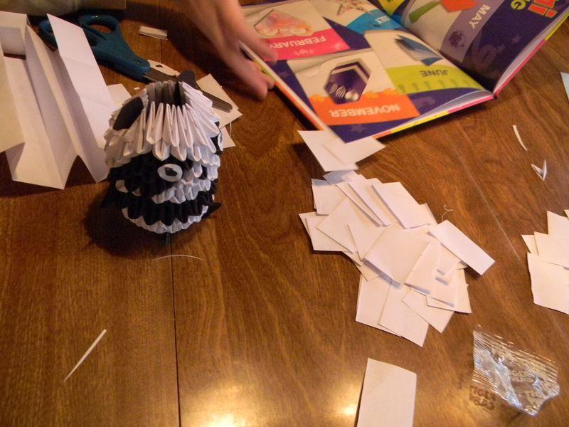 3d origami lesson