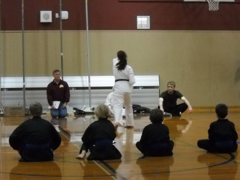2nd black belt test